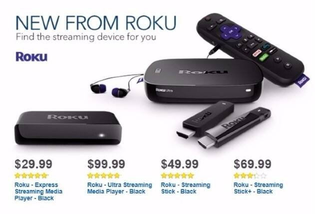 Best Buy Weekly Ad: Roku Stick+ for $69.99