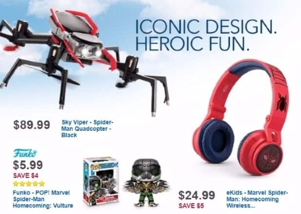 Best Buy Weekly Ad: SPIDER-MAN HEADPHONES for $24.99