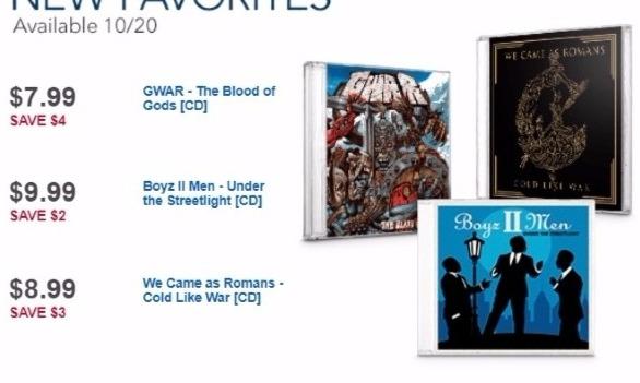 Best Buy Weekly Ad: Boyz II Men for $9.99