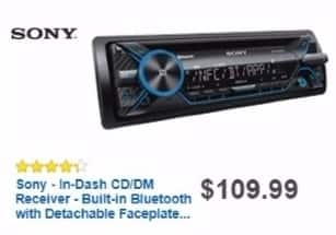 Best Buy Weekly Ad: Sony In-Dash CD/DM Receiver for $89.99