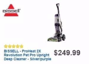 Best Buy Weekly Ad: Bissell ProHeat 2X Revolution Pet Pro Deep Cleaner for $249.99