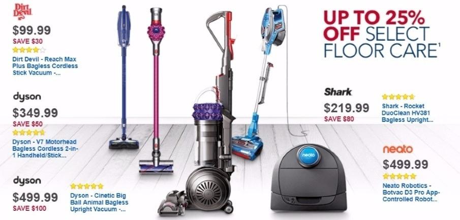 Best Buy Weekly Ad: Dirt Devil Reach Max Plus Cordless Vacuum for $99.99