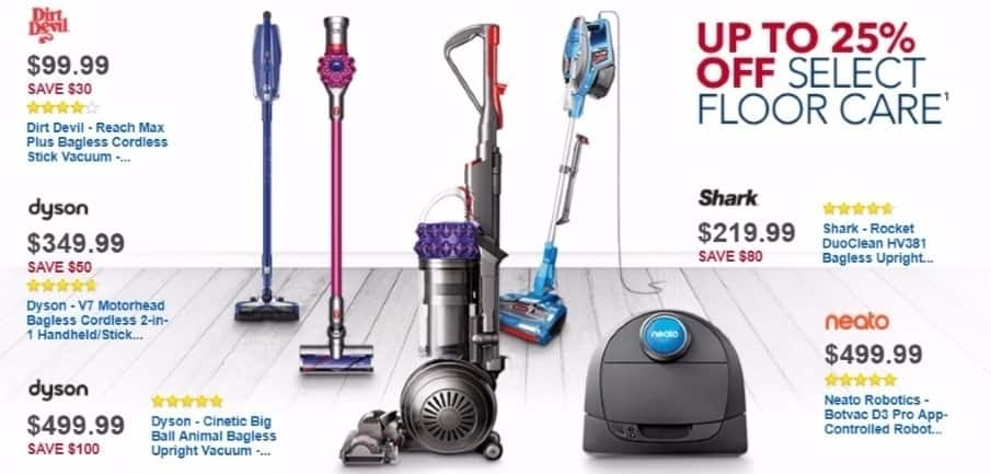 Best Buy Weekly Ad: Dyson V7 Motorhead Cord-Free Vacuum for $349.99