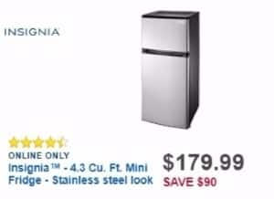 Best Buy Weekly Ad: Insignia 4.3 Cu. Ft. Compact Refrigerator for $179.99