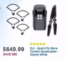 Best Buy Weekly Ad: Spark Fly More Combo for $649.99