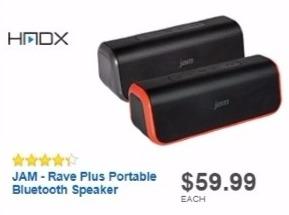 Best Buy Weekly Ad: Jam Rave Plus Bluetooth Speaker for $19.99