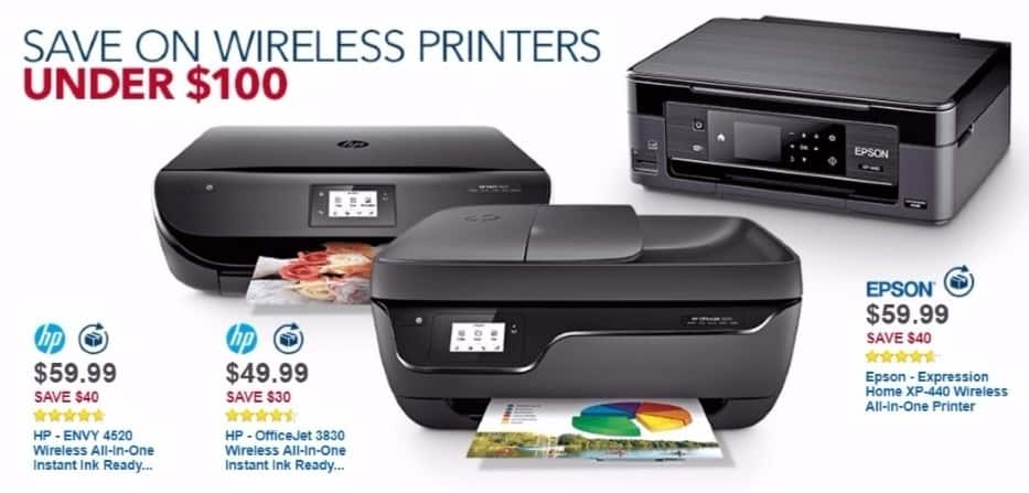 Best Buy Weekly Ad: Epson Expression XP-440 Wireless Printer for $59.99