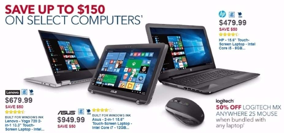 Best Buy Weekly Ad: Asus Q524 with Intel Core i7 Processor for $949.99