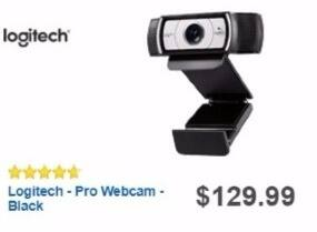 Best Buy Weekly Ad: Logitech Pro Webcam for $99.99