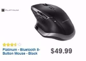 Best Buy Weekly Ad: Platinum Bluetooth Mouse - Black for $34.99