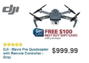 Best Buy Weekly Ad: DJI Mavic Pro for $999.99