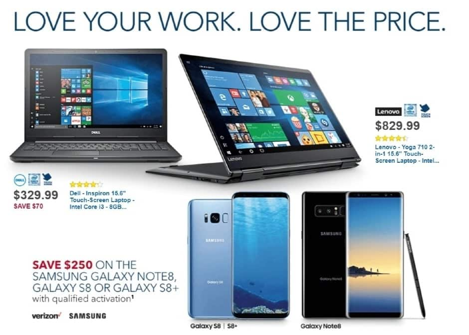 Best Buy Weekly Ad: Dell Inspiron with Intel Core i5 Processor for $849.99