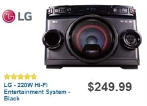 Best Buy Weekly Ad: LG X-Boom Cube Shelf System for $179.99