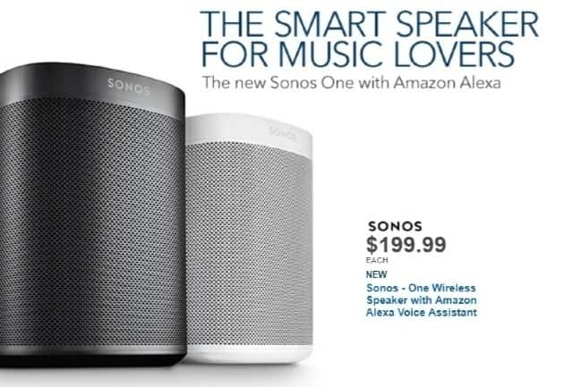 Best Buy Weekly Ad: Sonos One -White for $199.99