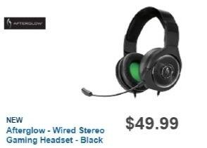 Best Buy Weekly Ad: Afterglow AG 6 Wired Gaming Headset for Xbox One for $49.99