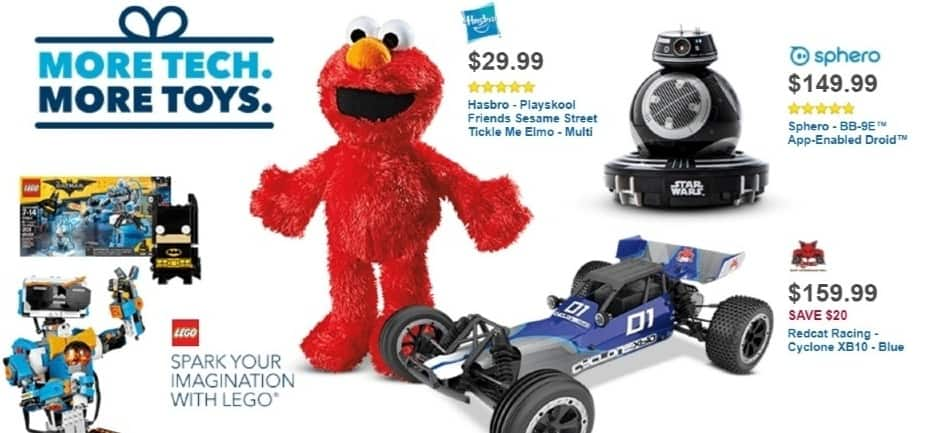 Best Buy Weekly Ad: TICKLE ME ELMO for $29.99