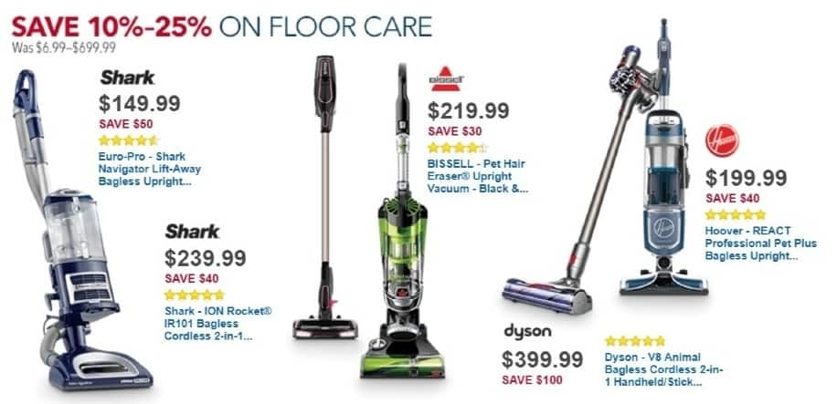 Best Buy Weekly Ad: Hoover REACT Professional Pet Plus Upright Vacuum for $199.99
