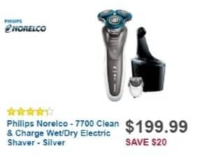 Best Buy Weekly Ad: Philips Norelco 7700 Shaver for $149.99
