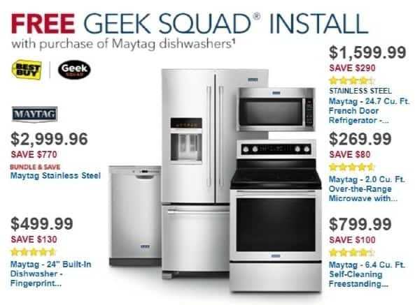 Best Buy Weekly Ad: Maytag - 2.0 cu. ft. Over-the-Range Microwave for $269.99