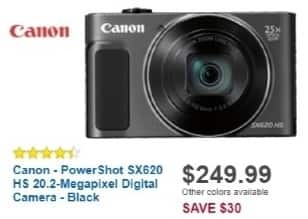 Best Buy Weekly Ad: Canon PowerShot SX620 for $249.99