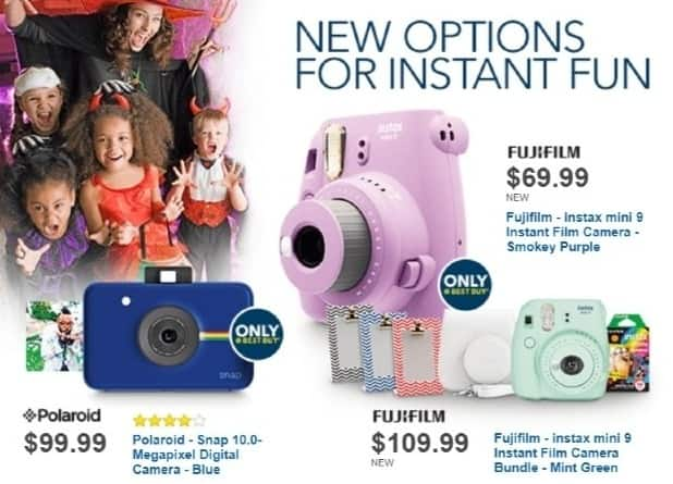 Best Buy Weekly Ad: Fujifilm instax Instant Print Camera Bundle for $109.99