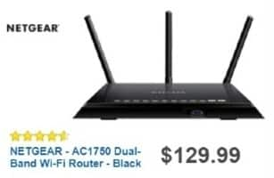 Best Buy Weekly Ad: Netgear AC1750 Wireless Router for $109.99