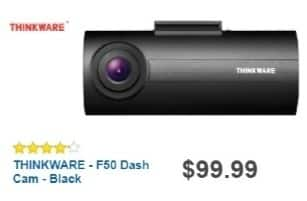 Best Buy Weekly Ad: THINKWARE F50 Dash Cam for $79.99