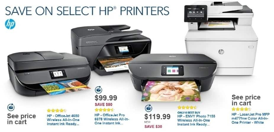 Best Buy Weekly Ad: HP LaserJet Pro MFP M477FNW Wireless Printer for $379.99