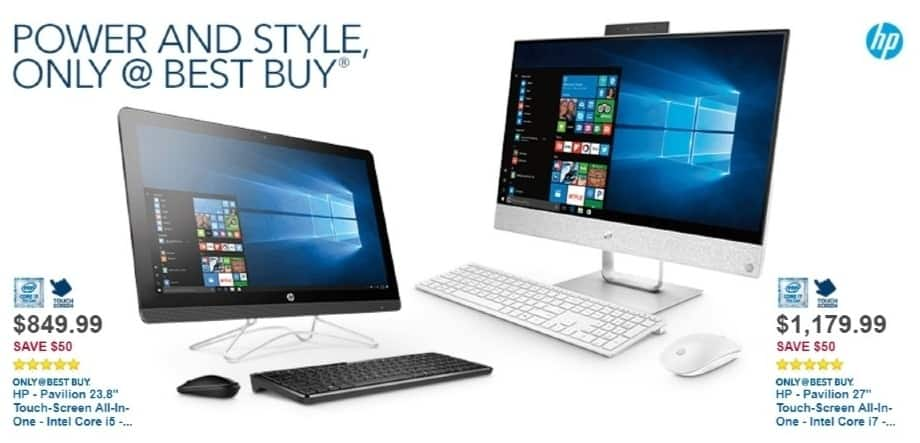 Best Buy Weekly Ad: HP All-in-One Computer with Intel Core i3 Processor for $849.99