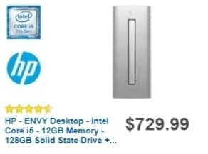 Best Buy Weekly Ad: HP Desktop with Intel Core i5 Processor for $629.99
