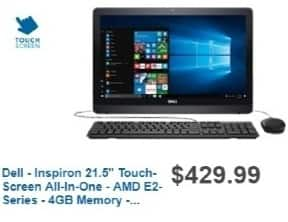 Best Buy Weekly Ad: Dell All-in-One Computer with Intel Inspiron Processor for $399.99