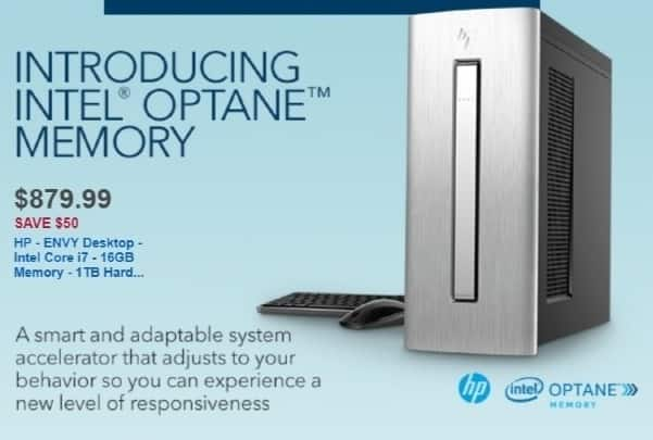 Best Buy Weekly Ad: HP Desktop with Intel Core i7 Processor for $879.99