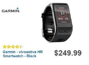 Best Buy Weekly Ad: Garmin vivoactive HR for $199.99