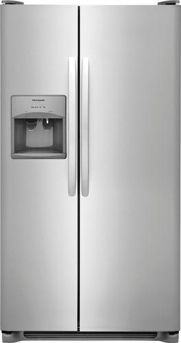 Best Buy Weekly Ad: Frigidarie - 25.6 Cu. Ft. Side-by-Side Refrigerator for $989.99