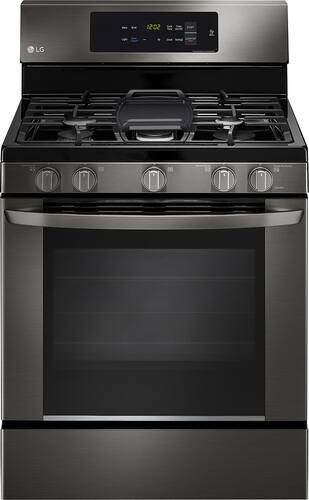 Best Buy Weekly Ad: LG - 5.4 cu. ft. Gas Range for $749.99