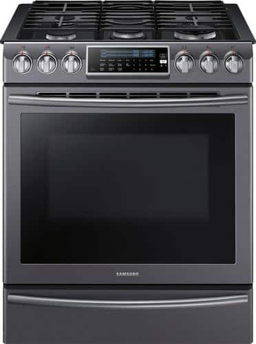 Best Buy Weekly Ad: Samsung - 5.8 cu. ft. Gas Slide-In Convection Range for $1,699.99