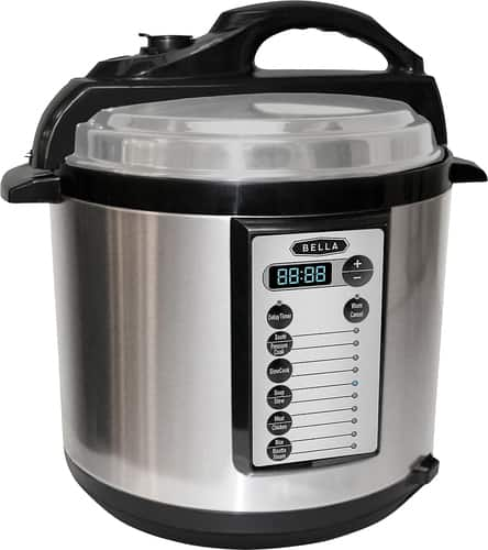 Best Buy Weekly Ad: Bella - 6-Quart Pressure Cooker for $49.99