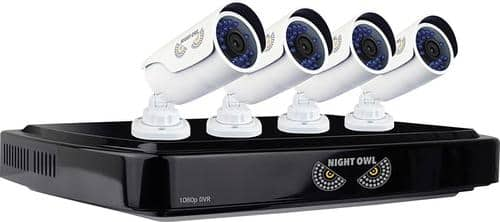 Best Buy Weekly Ad: Night Owl 8-Ch., 4-Cam. Surveillance System for $249.99