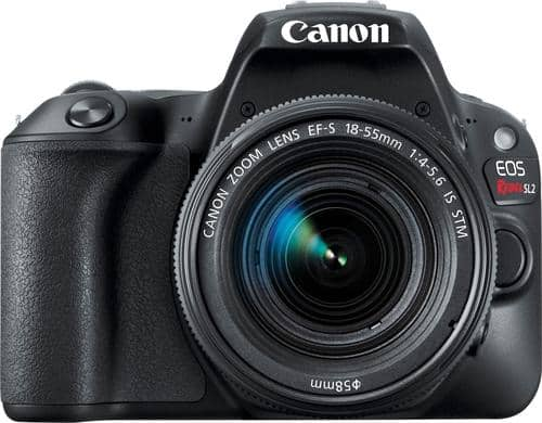 Best Buy Weekly Ad: Canon EOS SL2 18-55mm DSLR Camera for $649.99