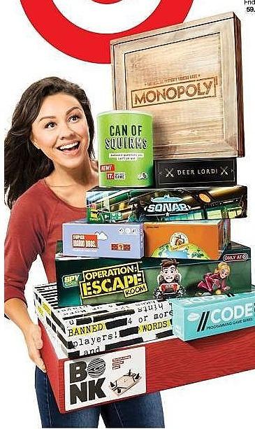 Target Weekly Ad: All Board Games - Buy 2, get 1 free
