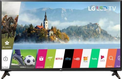 """Best Buy Weekly Ad: LG - 49"""" Class LED 1080p Smart HDTV for $349.99"""