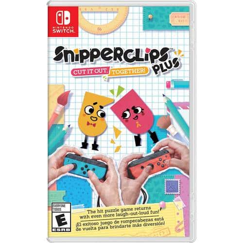 Best Buy Weekly Ad: Snipperclips Plus - Cut it out, Together! - NS for $29.99
