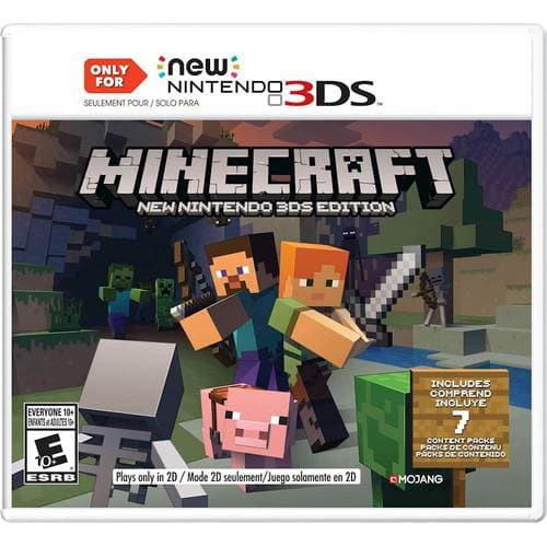 Best Buy Weekly Ad: Minecraft New Nintendo 3DS Edition - 3DS for $39.99