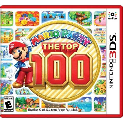 Best Buy Weekly Ad: Mario Party: The Top 100 - 3DS for $39.99
