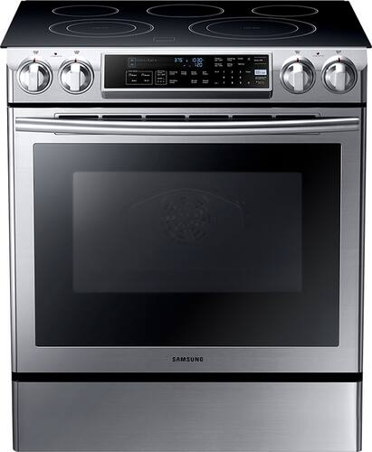 Best Buy Weekly Ad: Samsung - 5.8 cu. ft. Electric Slide-In Convection Range for $1,099.99