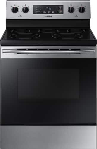 Best Buy Weekly Ad: Samsung - 5.9 cu. ft. Electric Range for $449.99