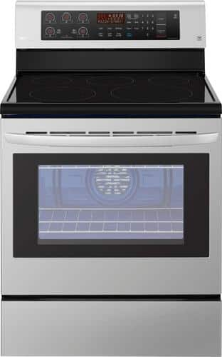 Best Buy Weekly Ad: LG - 6.3 cu. ft. Electric Convection Range for $699.99
