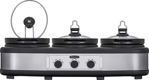 Best Buy Weekly Ad: Bella 3 x 2.5-qt. Triple Slow Cooker for $39.99