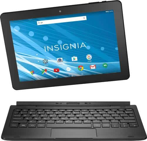 "Best Buy Weekly Ad: Insignia 10"" Tablet with Keyboard for $99.99"