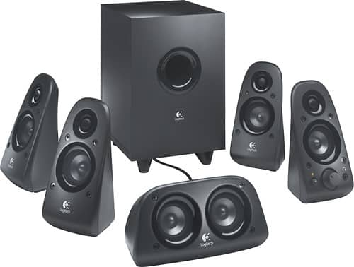 Best Buy Weekly Ad: Logitech Z506 5.1 Surround Sound Speakers for $59.99